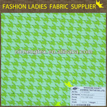 shaoxing textile High grade/women's dresses/shirts/popular/polyester spandex knitted jacquard fabric