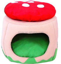RIMAX warm soft cute dog products strawberry kennel house china supplier