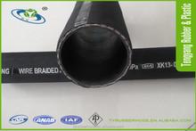 Rubber Hose Pipe Industrial Hydraulic High Pressure Rubber Hose
