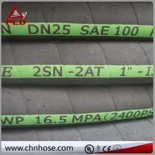 with good quality and spiral protective sleeve for cables and hydraulic