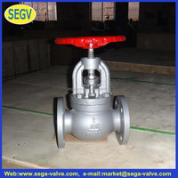 Carbon steel stainless steel flanged steam globe valve control handwheel gate valve