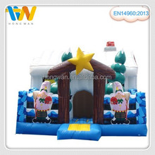 christmas inflatable bounce house inflatable bouncer