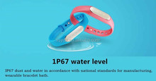 2015 smart band for fitness, bluetooth smart health band with OLED screen, fitness color smart band