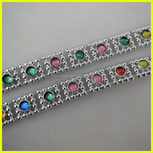 Hot Sale High Quality Rhinestone Decorative Trim,Clothing Decorative Chains,Wholesale Garment Accessories