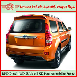 China New Right Hand Drive 4x4 Diesel SUV Cars