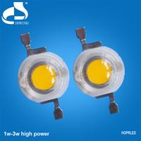 High lumen low decay 1 watt power led chip