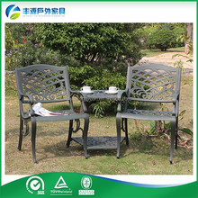 Outdoor Camping Square Plastic Picnic Table Outdoor Rattan Furniture