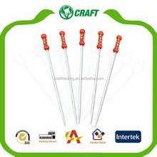 Directo de fábrica decorativa de bambú rojo o amarillo trenzada selecciones