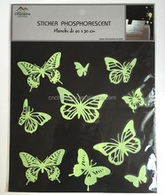 Butterfly Fluorescent Home Decor Glow in the dark wall sticker