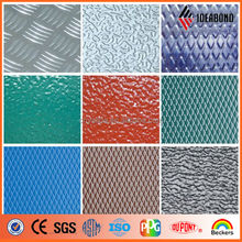 IDEABOND New Product Pre-painted Surface Aluminum Paneling with Embossing