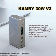 2015 Best e cigerette kits 7~30w Kamry30 high quality kamry 30 electric cigarette rolling machine