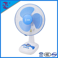 High cooling efficiency evaporative air condition 12 inch 3 speed electric table fan