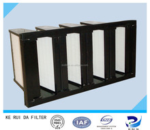 Low Cost Environmental Friendly Mini-pleat Air Filters for General Ventilation