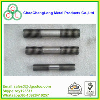 high tensile metric metal standard size bolts stud