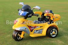 beliga fashion three-wheeled electric car in kids