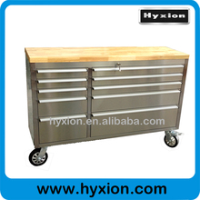 55inch 10 drawers stainless steel rolling aluminum cheap tool boxes