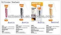 multipurpose silicone sealant /aquarium silicone adhesive sealant / acetic cure silicone sealant
