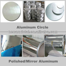 polished mirror aluminum coil for reflective materials 5005,5052ect