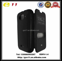light pu leather case hotsell mobile phone case for Tecno P5
