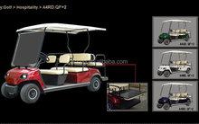 Ingrosso 6 posti motori elettrici golf cart vendita(ad lt- a4+2)