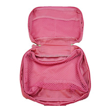 fashion non-woven cosmetic bag for lady