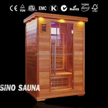 Luxury far infared 2 person activated carbon sauna room manufacturing equipment with nano carbon heater