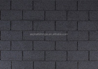 Single Tab Construct Build Material Asphalt Roof Tiles