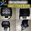 Wholesale 4x4 18w led light bar for cars led truck lights moto led work light
