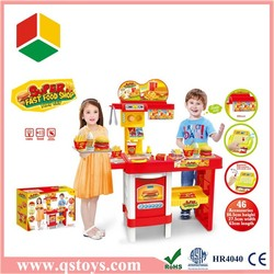New style kid toy kitchen play set,christmas gift kitchen toy top selling products 2015