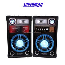2015 Fashional Color Light 2.0 professional Speaker with DJ stage speaker stero subwoofer