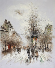 Hand painted Modern Art Palette Knife Oil Painting On Canvas made in China