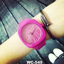 Students Jelly Watches sports watch waterproof electronic watch