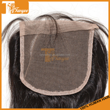 7A 5*5 lace closure 613 hair closure silk base lace closure Hongkong