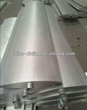 Oval shape sun shade aluminum window louvre /shutters