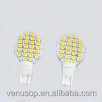 RV light 24 SMD LED T10 194 921 W5W 1210 RV Landscaping led Light Lamp Bulbs