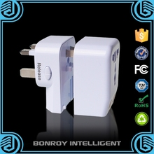 2015 Multi-Nation Universal Dual USB Travel Adapter Plug Iso And Android