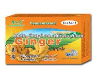 Natural health herbal tea/Instant granulated Ginger tea