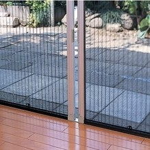 China Manufacturer aluminium insect screen door house gate design