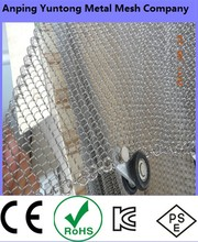 2015 hot sale factory directly made Beautiful and Long Life decorative metal mesh curtain