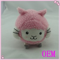 Custom deisgn stuffed cute mini plush sheep toy