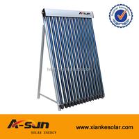 2014 hot sale high pressure evacuated hot tube sun collector