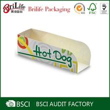 Wholesale Printed Food grade hot dog box