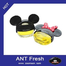 Mickey Mouse CUE Auto Car Dashboard Air Freshener Perfume Diffuser for Car Home 4 Color
