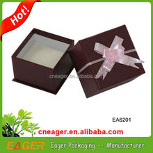 Customized watch storage box, single watch box