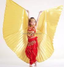 Girls Kids Handmade Belly Dance Costume Children's Angel Isis Wings