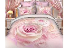 bedding/4pc printed bedding set/patchwork quilt