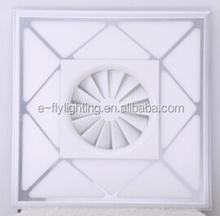 modern led pendant light fan decorative blade 20w led projector lighting