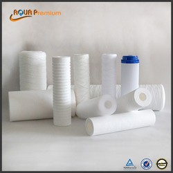 PP water filter with custom filter cartridge