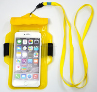 Phones Compatible Brand and PVC Material Arm Suit Mobile Phone Waterproof Pouch Bag