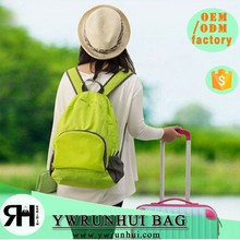 Hot fashion new designer folding backpack,waterproof leisure school backpack bag for teenagers